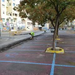 L'àrea de zona blava de la Riera Miró es reforma per convertir-se en un «smart city lab» en temes de mobilitat