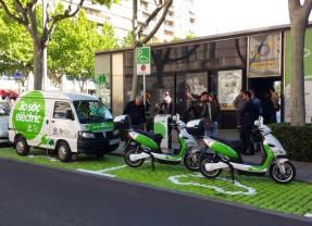 Impuls al vehicle elèctric: el 2014, aparcar i recarregar als pàrquings municipals és gratuït
