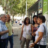 Tècnics de l'Ajuntament de Vic s'interessen pel desplegament de la xarxa municipal per a vehicles elèctrics de Reus