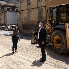 Nova àrea amb 76 places d'aparcament al barri del Carme